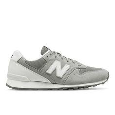 696 New Balance Women's Running Classics Shoes - Grey/White (WL696HS)