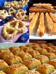 AranyTepsi: Sós finomságok egy kosárban Onion Rings, Waffles, Pizza, Baking, Breakfast, Ethnic Recipes, Pastries, Food, Cakes