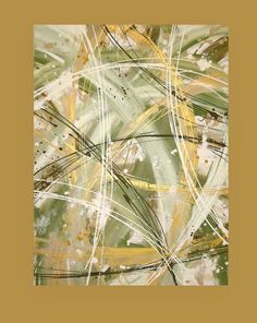 Acrylic Abstract Painting on Canvas Titled by OraBirenbaumArt, $385.00