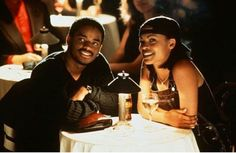 """*One of the greatest black films of the is the love story of Larenz Tate and Nia Long in """"Love Jones."""" For a person who's in their late """"Love Jones"""" seems like such a long time ago. To be exact, """"Love Jones"""" came out in 1997 and was directed by then … Black Love Movies, Black Love Couples, Cute Couples, 90s Movies, Good Movies, Love Jones Movie, Soundtrack, Date Night Movies, Nia Long"""