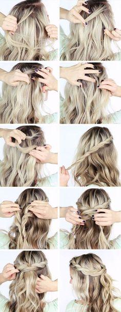 Hair Style for Weddings & Fancy Affairs