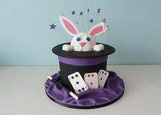 Rabbit in a Hat Magic Cake
