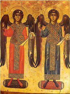 АРХАНГЕЛЫ МИХАИЛ И ГАВРИИЛ кон. 12 - нач. 13 века монастырь св. Екатерины