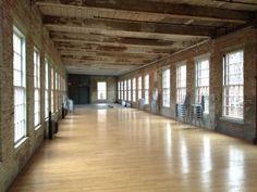 Building 8, Mass MoCA, North Adams MA #massachusetts #berkshires #westernmass #wedding #venues #events #industrial #mill #museum