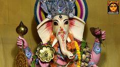 Picture of Ganesh Puja in Kolkata. Happy Ganesh Chaturthi, Durga Puja, Durga Goddess, Kolkata, Krishna, Halloween, Lady, Spooky Halloween