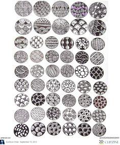 Zentangle Patterns & Ideas by beatriz.murillomorley