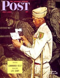 "1944-07-01: ""War Bond"" (Norman Rockwell)"
