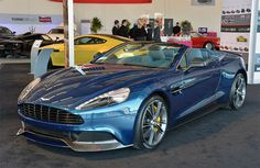 Aston Martin's V12 Vantage S and Vantage Volante make Pebble Beach Debuts