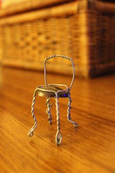 champagne cork cage chair