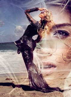 Vogue Spain - From Beneath the Sea