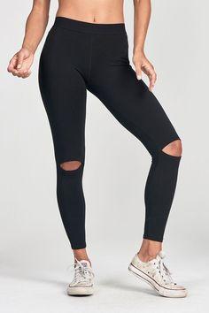 Cut Loose Leggings - Black