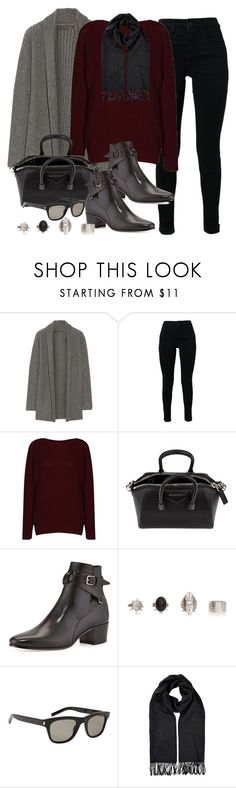"""""""Style #9691"""" by vany-alvarado ❤ liked on Polyvore featuring The Elder Statesman, J Brand, Givenchy, Yves Saint Laurent, Burberry, women's clothing, women's fashion, women, female and woman"""