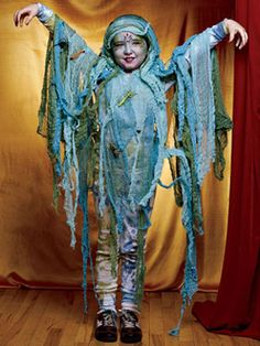Halloween Costumes for Kids at WomansDay.com - Sw& Girl Halloween Craft - Womanu0027s Day  sc 1 st  Pinterest & That Mommy Blog: The Sea Monster | Costumes for kids | Pinterest ...