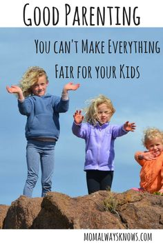 Having problems keeping everything fair between your kids and keep sane!? It is hard sometimes so here are some great tips just for you, Mom!