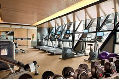 Gym~  I am NOT a fan of Gyms.   I like to workout at hom or out doors.    NO one  needs a stinkin gym or fancy equipment!!