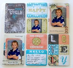 Time to Create ...: Picture My Life ~ Chalk It Up ~ Pocket Scrapbooking Week Four