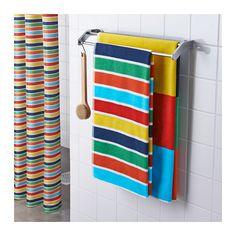 BOKVIK Bath towel, multicolour