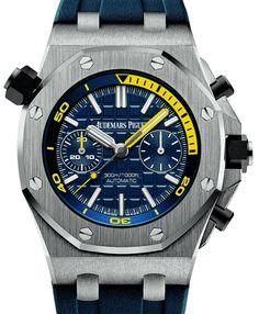 Audemars Piguet Royal Oak Offshore Diver Chronograph Watch Watch Releases