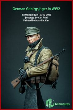 The first release from Man Jin Kim Miniatures is now in stock at highcalibreminiatures.com, click the picture for details.