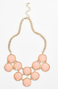 BP. Circle Stone Statement Necklace (Juniors)