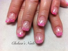 Daisies on Pink - Nail Art Gallery by NAILS Magazine
