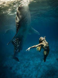 Okyanusun derinliklerinde moda! -