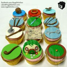 The Hobbit Cupcakes   by The Regali Kitchen