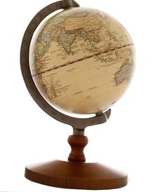 TStoy Vintage Reference World Globe Home Work Decor Wedding Educational Gift 14cm -- See this awesome image  : Decor Collectible Buildings and Accessories