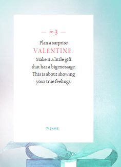 Valentine Tip 3 from Tiffany & Company