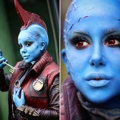 YONDU POPPINS! Credit: @lana.read #yondu #yonduudonta #immarypoppinsyall #ravager #cosplaygirl #makeup #makeupbyme #cosplay #yonducosplay #guardiansofthegalaxycosplay#guardiansofthegalaxy #guardiansofthegalaxyvol2 #gotg #gotgvol2 #marvel #sexycosplay #cosplaygirl #marvelcomics #movies #moviecosplay #comiccon #comiccon2017 #germancosplay #germancosplayer #facepaint #cosplayers #michaelrooker