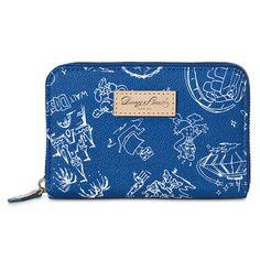 Disneyana Wallet by Dooney & Bourke - Walt Disney World - Navy | Bags & Totes | Disney Store