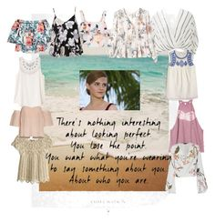 """Girl power in the tropics"" by emmatraynor on Polyvore featuring art and allaboutme"