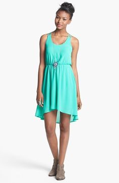 Lush Strappy High/Low Dress (Juniors) available at #Nordstrom