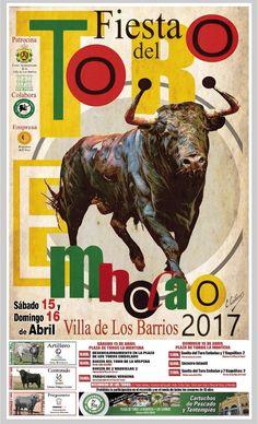 CARTEL TORO EMBOLAO 2017 LOS BARRIOS