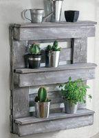 DIY palette Une étagère nature... - Le Blog de Sophie -