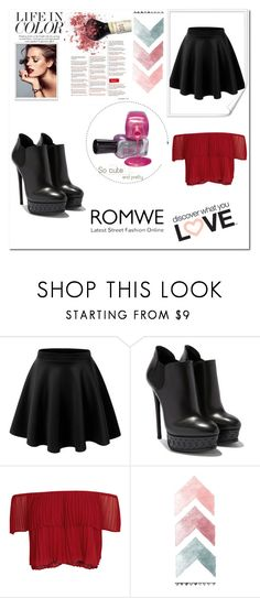 """Romwe"" by aida-kadric ❤ liked on Polyvore featuring Keepsake the Label"