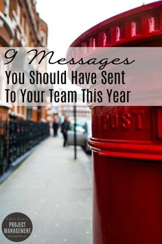 9 Messages You Should Have Sent to Your Team This Year