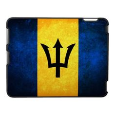 Bajan Flag Case For The iPad...!? Why, oh why do I not own this yet!!!????