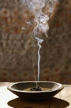 Burning Frankincense