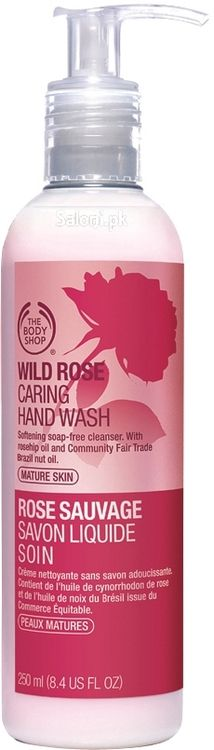 Buy The Body Shop Wild Rose Caring Hand Wash 250 ML Online in Pakistan, Best Liquid Soap by The Body Shop With Free Home Delivery British Rose, Liquid Soap, The Body Shop, Face Skin, Hand Washing, Games For Kids, Bath And Body, Lotions, Shopping