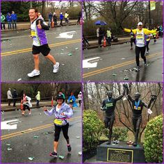 3 out of our 5 runners at the bottom of #HeartbreakHill  Brendon, Gianmarco & Lisa! #WeRunTogether #TeamOneMission #Boston Our next running program is the Falmouth Road Race. Sign up today to run with team One Mission, but hurry, there are only 3 big numbers left!