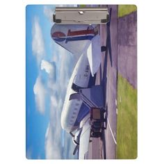 """Douglas Dakota DC3 Clipboards Excellent for note-taking and organizing important papers, these ultra-sturdy acrylic clipboards will keep you on track and in style. Dimensions:  12.5""""l x 9""""w"""