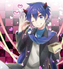 kaito, vocaloid, and bishounen image Vocaloid Kaito, Kaito Shion, Kagamine Rin And Len, Blue Hair Anime Boy, Blue Anime, Mikuo, Anime Guys, Anime Characters, Fan Art