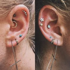 Most current Free of Charge Cartilage Piercings daith Popular If an ordinary sharp just isn't more than enough, if you want to be able to on the bet on their neat issue Orbital Piercing, Dermal Piercing, Piercing Tattoo, Ear Piercings, Ear Jewelry, Body Jewelry, Jewlery, Turquoise Earrings, Ear Studs
