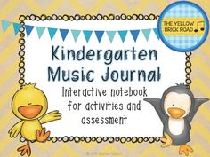 Interactive music journal for activities and assessment. A great tool to have for your sub tub or for those lovely evaluations ;)