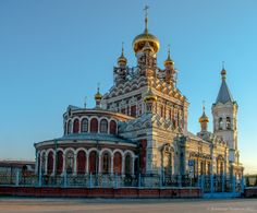 Свято-Никольский храм в г. Кунгуре, Пермский край.