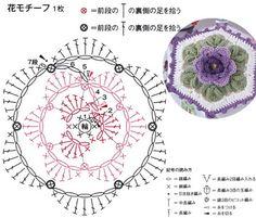 Crochet and arts: potholder