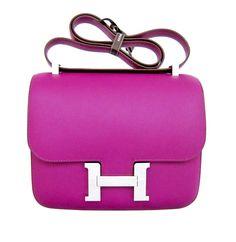 Hermes Constance Bag 29cm Limited Edition Cartable Bleu Blue ...