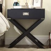 But in Espresso not black Found it at Wayfair - Alya Campaign End Table