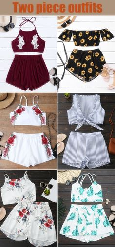 Top,Outfits,Blouses,Tees,T-shirt,Tank top,Crop top,Shirts,Off shoulder blouses,Off the shoulder tops,Halter top,Tunic tops,Two piece outfits,to find different top ideas @zaful Extra 10% OFF Code:ZF2017